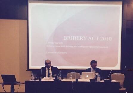Tanveer Qureshi Bribery Act 2010 presentation