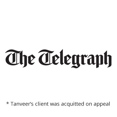 The Telegraph logo (acquitted on appeal)