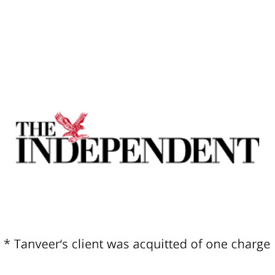 The Independent logo (acquitted of one charge)